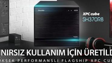 Shuttle Performans için Tasarlandı: Üç 4K Ekran için Güçlü 1 litrelik PC
